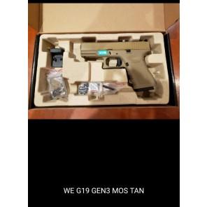 WE G19 GEN3 MOS TAN
