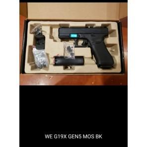 WE G19X GEN5 MOS BK WITH EXTRA MAGAZINE(BUNDLE)
