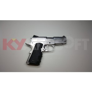 KY custom V10 Gbb Pistol with Marking (Silver)