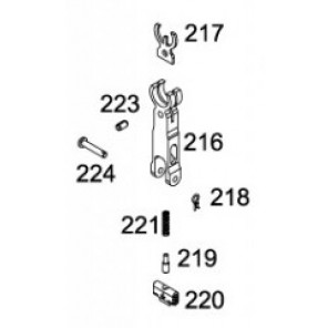 WE 888 C Complete front Sight #216, #217, #218, #219, #220, #221, #223, #224