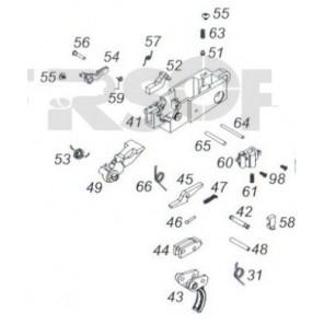 WE PLR-16 GBBR Complete Trigger Assembly