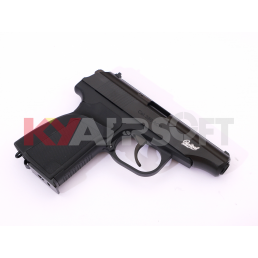 WE Metal MAKAROV GBB Pistol with Silencer ( BK, BAIKAL